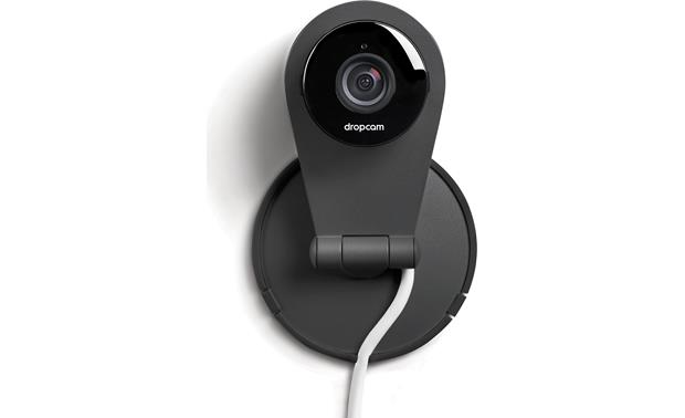 Nest Dropcam Pro Shown mounted on a wall