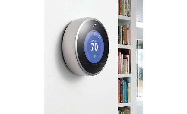 Nest Learning Thermostat, 2nd Generation Stylish looks match any room