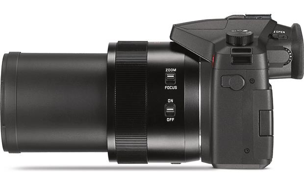 Leica V-Lux Shown with lens at full zoom