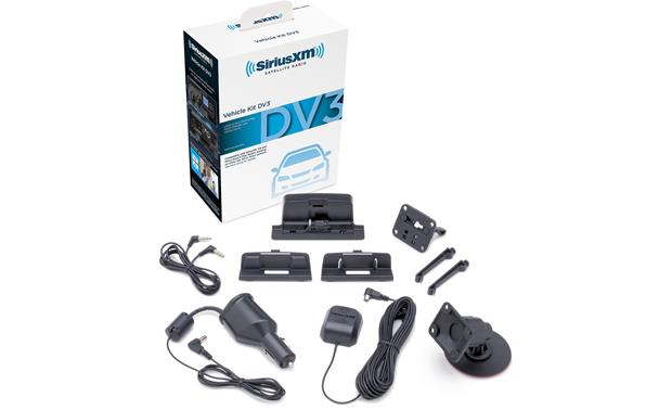SiriusXM SXDV3 Car Kit Everything you need