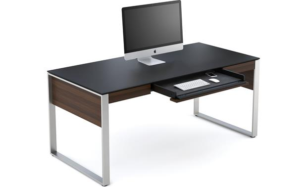 BDI Sequel 6021 Chocolate stained walnut (computer and accessories not included)