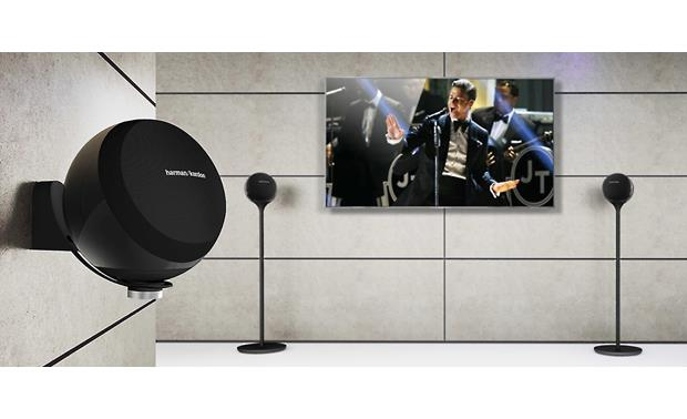 Harman Kardon Omni 10 Mountable on compatible stands (not included)
