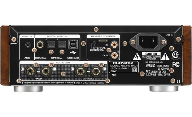 Marantz HD-DAC1 Back