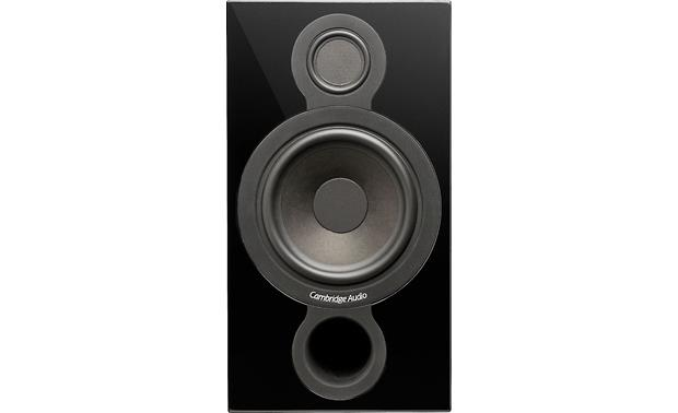Cambridge Audio Aeromax 2 Direct front view with grille off (Gloss Black)