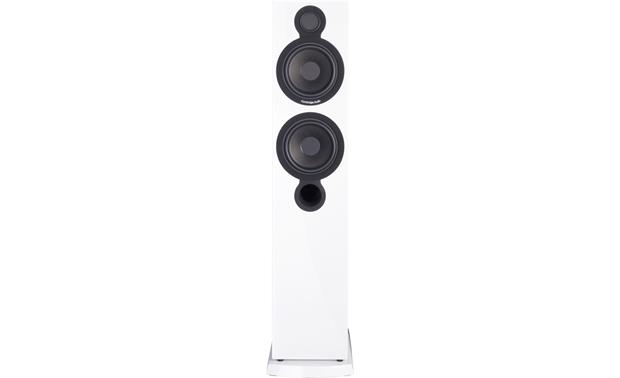 Cambridge Audio Aeromax 6 Direct front view with grille off (Gloss White)