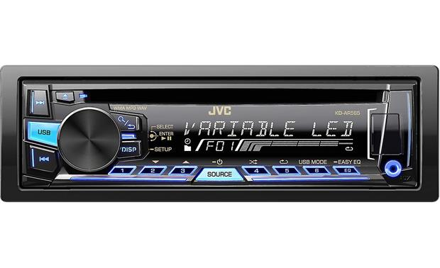 JVC Arsenal KD-AR565 Change the colors on the receiver's display to match your interior lighting