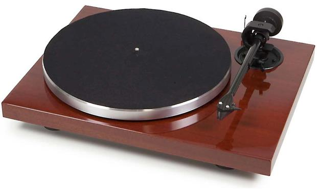 Pro-Ject 1Xpression Carbon Classic Mahogany (dust cover included, not shown)
