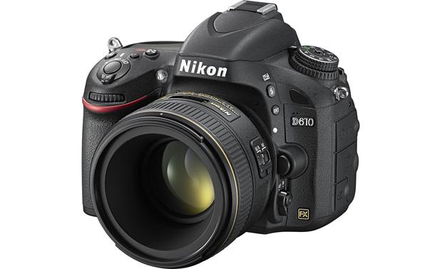 Nikon AF-S Nikkor 58mm  f/1.4G Shown mounted to Nikon D610 (Not included)