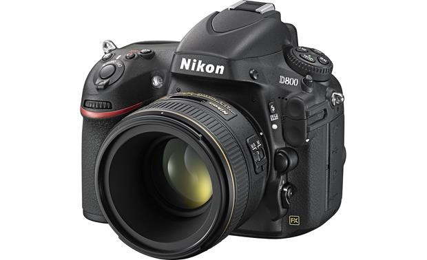 Nikon AF-S Nikkor 58mm  f/1.4G Shown mounted to Nikon D800 (Not included)
