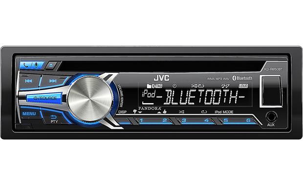 JVC KD-R850BT Enjoy your music on CDs, USB drives, and from your smartphone using Bluetooth