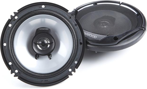Kenwood KFC-1665S Kenwood uses rugged materials so that these speakers can endure the extreme conditions that come with living in your car doors.