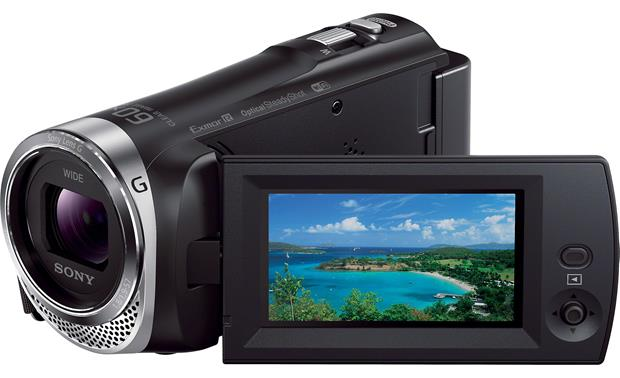 Sony Handycam® HDR-CX330 Front