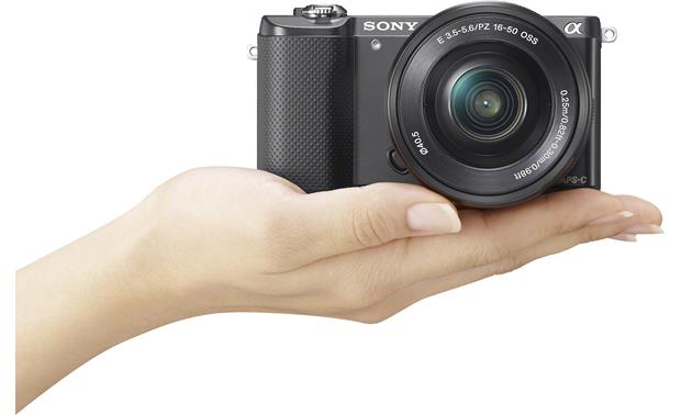 Sony Alpha a5000 Kit Compact and easy to use