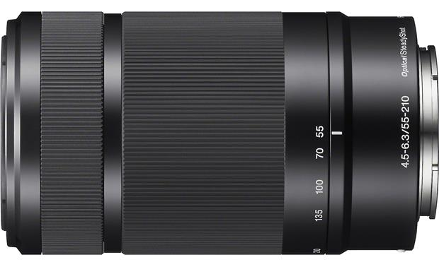 Sony SEL55210 55-210mm f/4.5-6.3 Side view (Black)