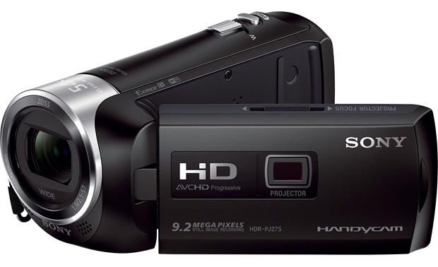 Sony Handycam® HDR-PJ275 Front