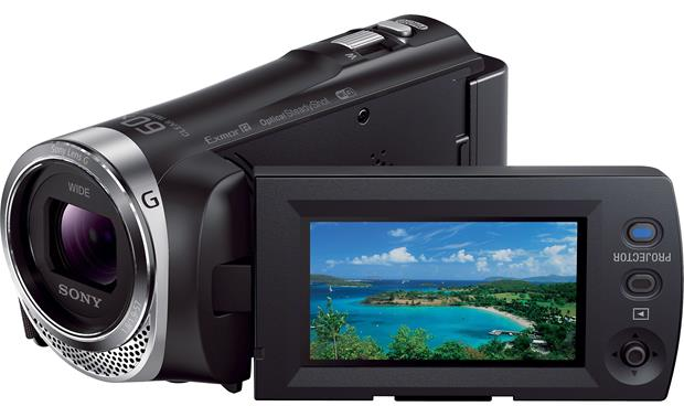 Sony Handycam® HDR-PJ340 Front
