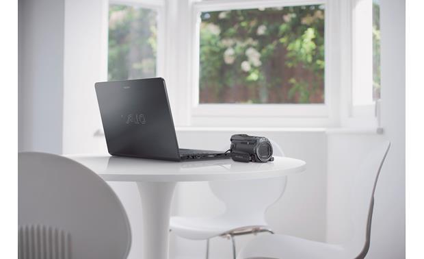 schwarz Full HD, 24,5 Megapixel, Sony G-Optik mit 12 fach Zoom ...