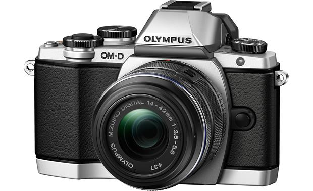 Olympus E-M10 Kit Front (Silver)