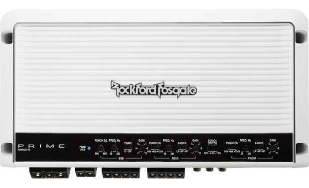 Rockford Fosgate M600-5 Compact packaging