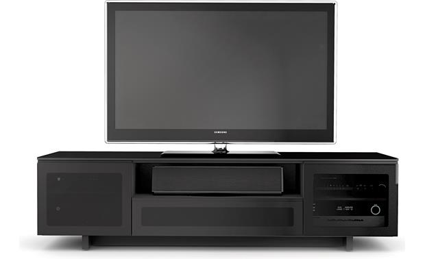 BDI NORA™ 8239 Gloss Black (TV and components not included)