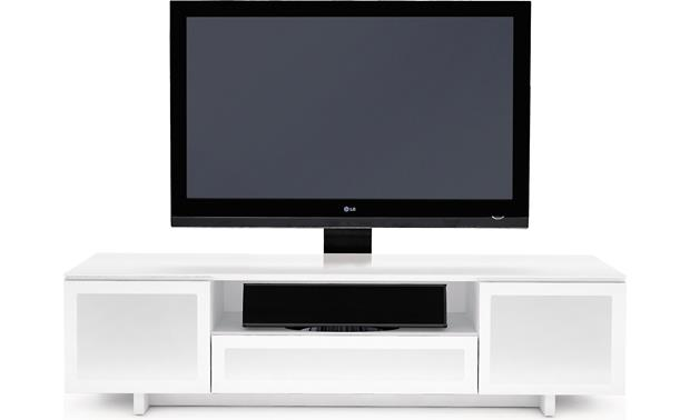 BDI NORA™ 8239 Gloss White (TV and components not included)