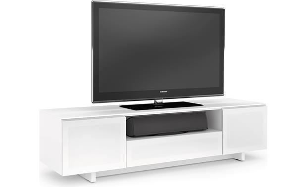 BDI NORA™ 8239 Gloss White - TV and components not included