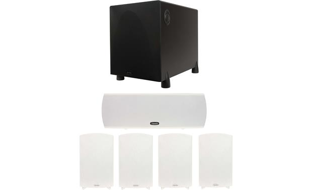 Definitive Technology ProCinema 1000 ProCinema 1000 system in White (powered subwoofer available in Black only)