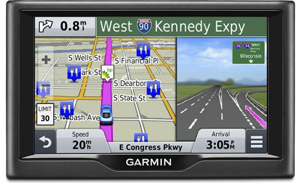 Garmin nvi 57 Portable navigator with 5 screen at Crutchfieldcom