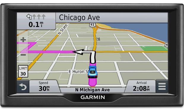 garmin n vi 67lm portable navigator with 6 screen and free rh crutchfield com Garmin Nuvi ManualDownload Garmin Dashboard Manual