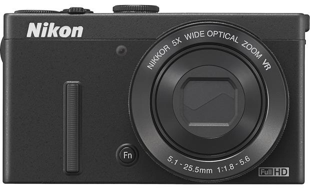 Nikon Coolpix P340 Front, with lens closed