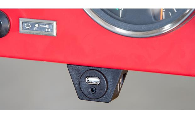 RetroSound USB-PORT Can be mounted under dash