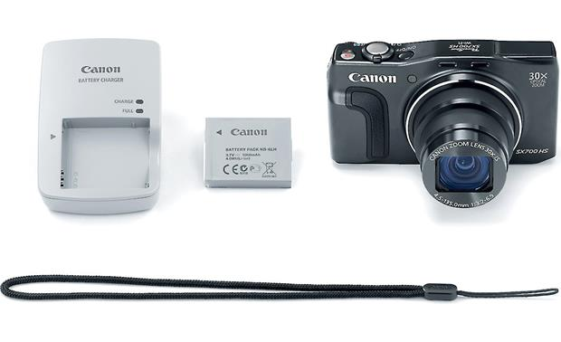 Canon PowerShot SX700 HS With included accessories