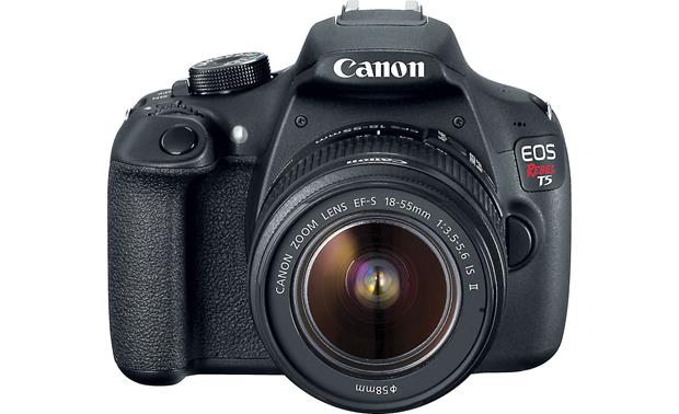Canon EOS Rebel T5 Kit Included 18-55mm lens is great for getting started