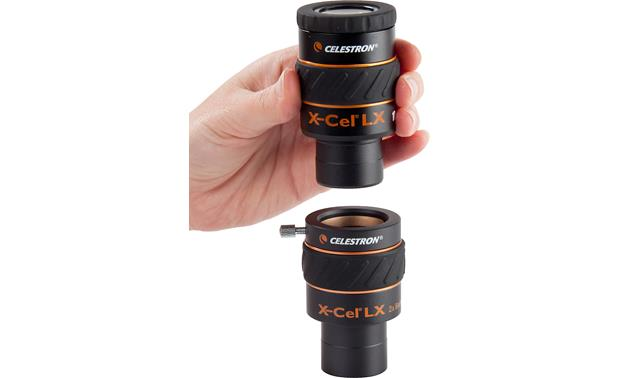 Celestron X-Cel LX 2X Barlow Lens The Barlow lens adds magnification to the eyepieces you already have