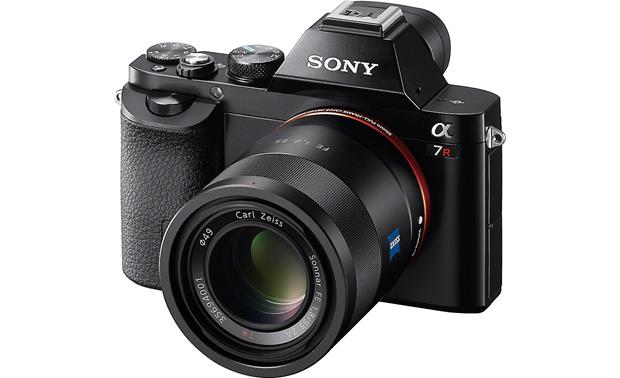 Sony SEL55F18Z FE 55mm f/1.8 Lens Mounted to a Sony A7R digital camera (camera not included)