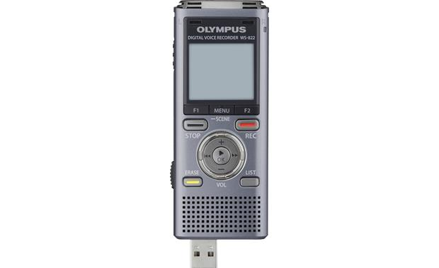 Olympus WS-822 With retractable USB connector extended