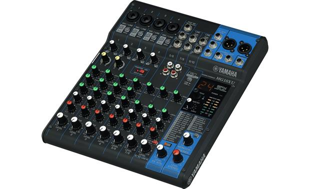 yamaha mg10xu 10 channel mixer with compression effects