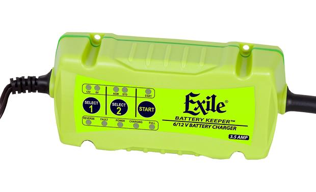RetroSound Exile® EX-1 Battery Keeper™ Front