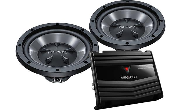 Kenwood P-W1020 150-Watt Bass Package Front