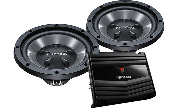 Kenwood P-W1220 Bass Package Front