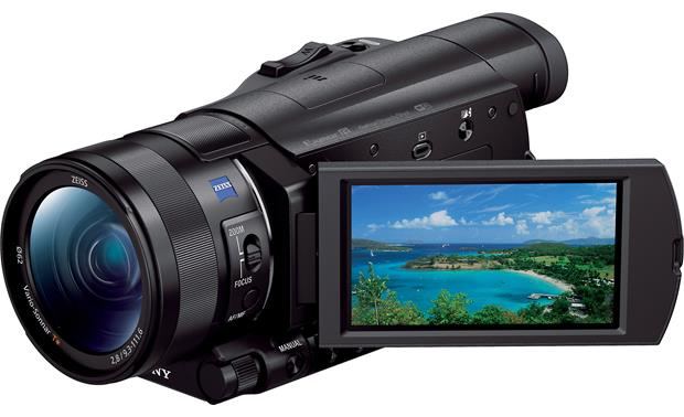 Sony Handycam® FDR-AX100 Front