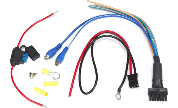 g204RSAAWK F sas bazooka rsa hp awk amp wiring kit replacement wiring kit for bazooka wiring harness at edmiracle.co