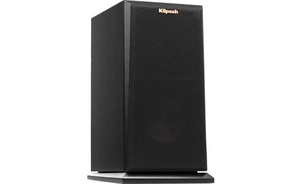 Klipsch Reference Premiere RP-150M Angled front view with grille attached (Ebony)