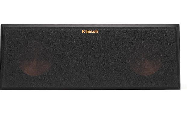 Klipsch Reference Premiere RP-250C Direct front view with grille attached (Cherry)