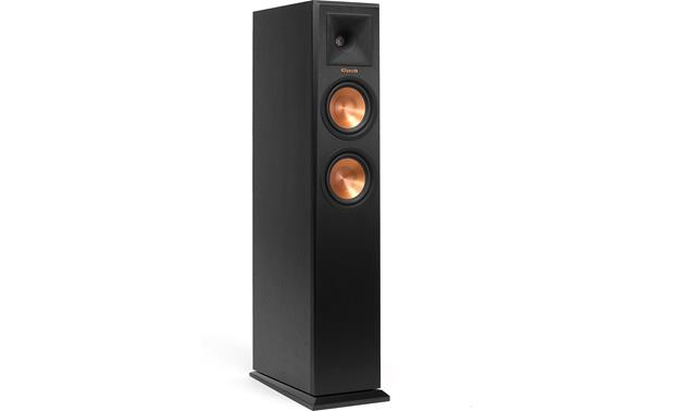 Klipsch Reference Premiere RP-250F Ebony (shown with included grille removed)
