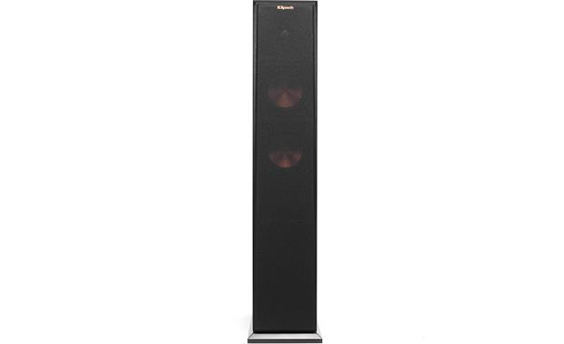 Klipsch Reference Premiere RP-250F Direct front view with grille on (Ebony)