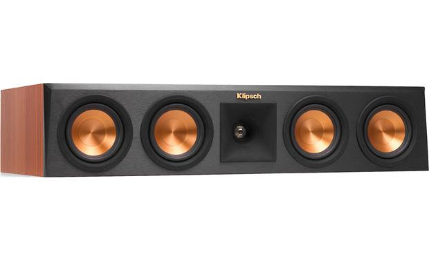 Klipsch RP-250 5.1 Home Theater Speaker System Center channel speaker with grille removed