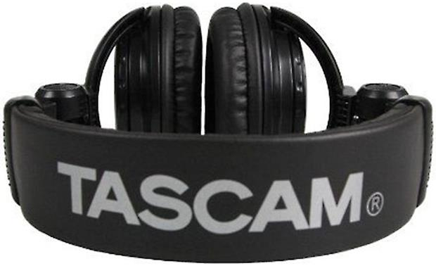 Tascam TH02-B Fold up for easy storage