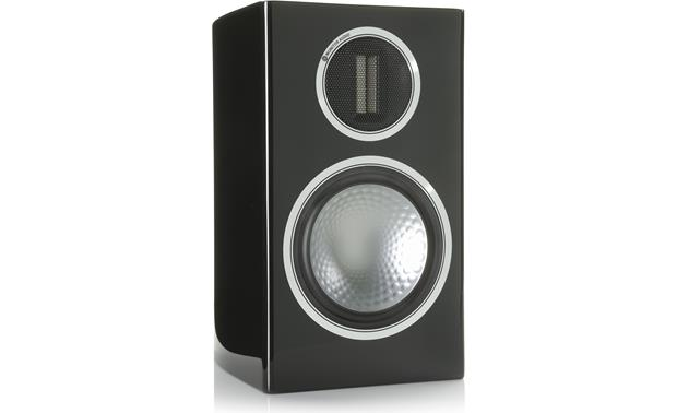 Monitor Audio Gold 100 Grille off (Piano Black Lacquer)