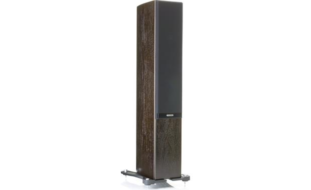 Monitor Audio Gold 200 Shown with included magnetically attached 'floating' cloth grille (Walnut)